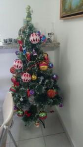 O Natal chegou aqui em casa...