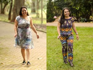 Paula Antes e Depois de Emagrecer